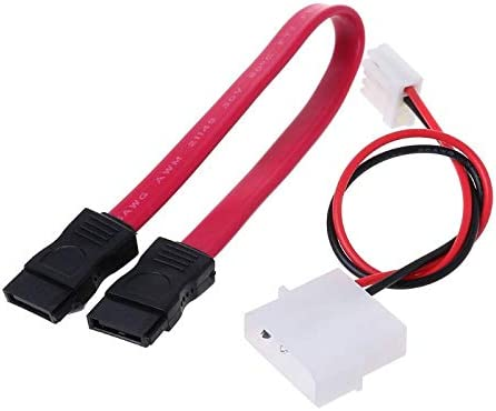 Cables Occus 1 pcs Occus IDE HDD to SATA Serial ATA Converter Adapter Cable Length: red