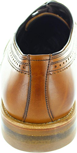 John White Goodwood, Scarpe stringate uomo marrone Brown