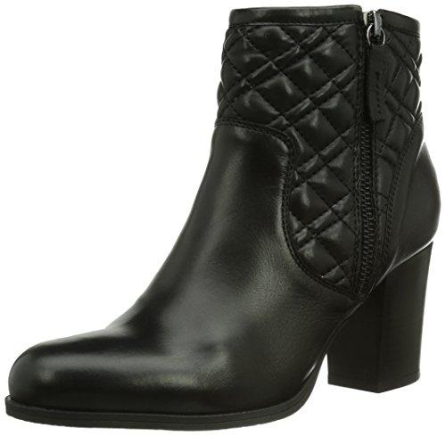 Unisa Lilles_To, Boots femme Noir (Black)