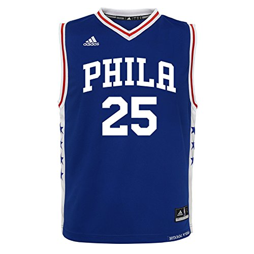 NBA Philadelphia 76ers Ben Simmons Boys 8-20 Jersey, Large ,