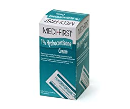 Medique Products 21135 Hydrocortisone Cream, 144 Packets Per Box