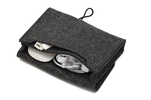 Dark Grey 13'' Felt Built-in Computer Bag, Now Give A Power Bag by HeBei TengYe (Image #4)