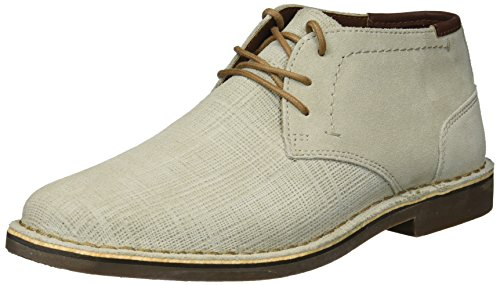 Kenneth Cole REACTION Men's Desert Sun Chukka Boot, Sand Embossed, 10 M US