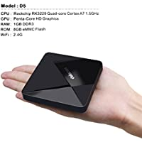 ELECSUM Dolamee D5 Android 5.1TV Box DDR3 1G RAM 8G ROM Support 4K Ultra HD Smart Set Top Box with WiFi