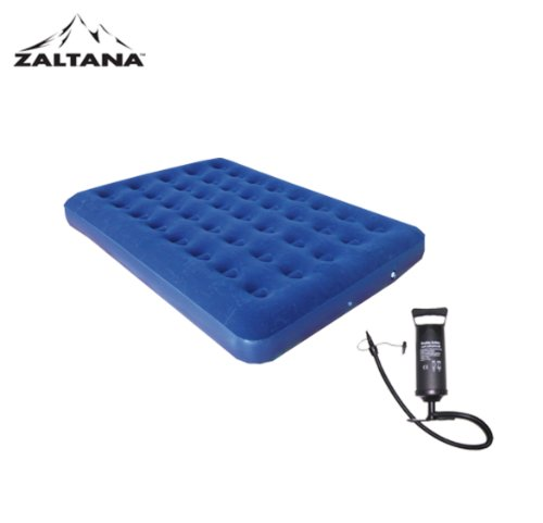 Zaltana Double Size AIR Mattress with AIR Pump