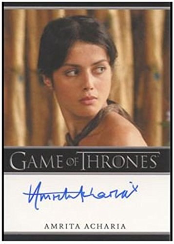Amrita Acharia – Game of Thrones Season Two 2 Autographed Card