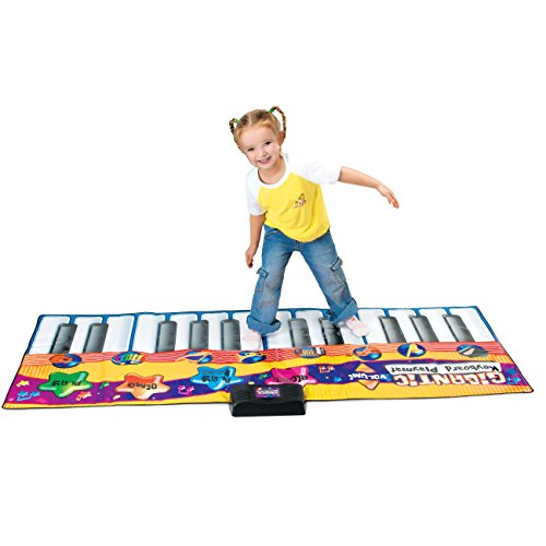 Best Choice Products Kids Big Keyboard Piano Fun Dance Playmat with 8 Instruments & 4 Play Modes, Multicolor by Best Choice Products (Image #5)