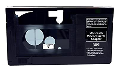 Gigaware VHS-C Videocassette Adaptor from Gigawear