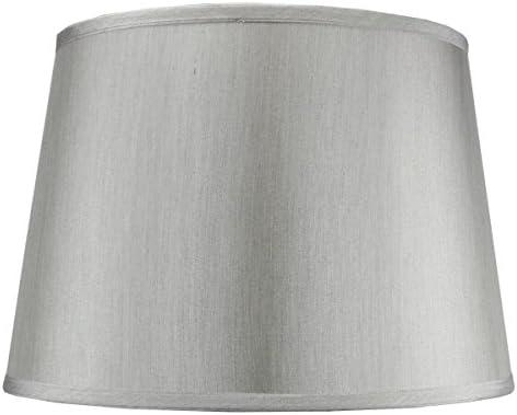2 Light Swag Plug-in Pendant 16″w 16″w Bavarian Gray