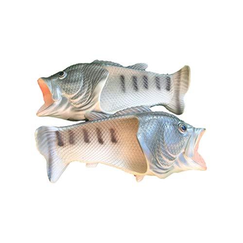 Uomini e da Open Comode Eva Sandali Scarpe Pantofole in Suola Spiaggia Personality Innovative Infradito Donne estive Toe Fish Design w1zXnWqSY