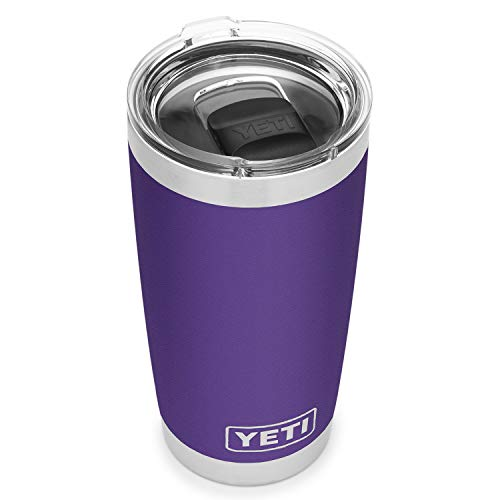 YETI Peak Purple Rambler Tumbler 20 Ounce, 1 EA (Cup Tumbler Purple)