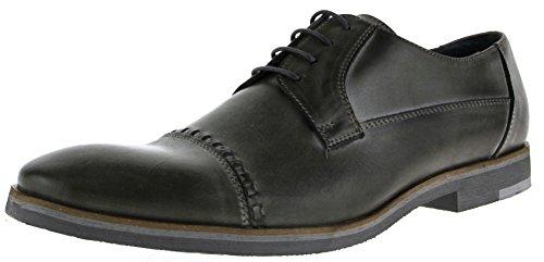 nicolabenson - Zapatos de cordones de Piel para hombre Negro negro, color Negro, talla 41 UE