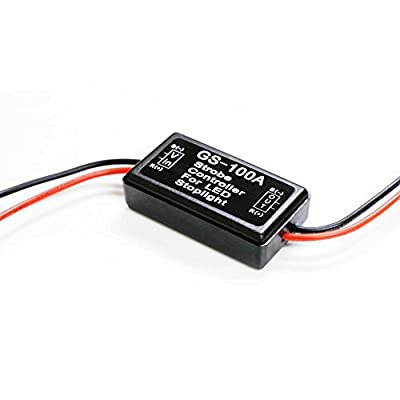 DLLL GS-100A Flash Strobe Controller Flasher Module for SUV Truck Car Motorcycle Motorbike Tanks,Armored Vehicles,Electric Bicycles and Other LED Lights LED Brake Tail Stop Light: Sports & Outdoors