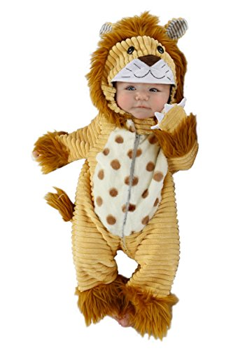 Princess Paradise Baby Boys' Safari Lion Deluxe Costume, As Shown, (Safari Costume Halloween)
