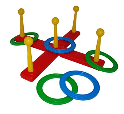 Wader Quality Toys Children's Ring Toss Game, Colorful