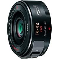Panasonic LUMIX G X VARIO PZ 14-42mm/F3.5-5.6 ASPH./POWER O.I.S. |H-PS14042M-K Black - International Version (No Warranty)