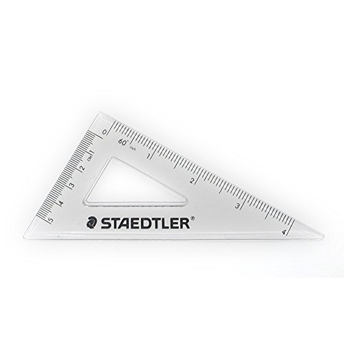 Staedtler School Kit - Geometry Compass, Protractor, Triangle Rulers, Side Click Pencil, Eraser + Neoprene Zippered Pencil Case Photo #4