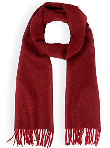 Baby Wool Pure Natura (Luxury 100% Pure Baby Alpaca Wool Scarf for Men & Women - A Great Gift Idea in Many Colors (Rosewood))