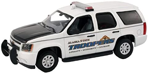 First Response 1/43 Alaska State Troopers AST Chevy Tahoe Police SUV - Trooper Model