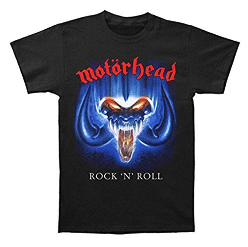 (GLOBAL Motorhead Men's Rock 'N' Roll Album Cover T-Shirt XL)