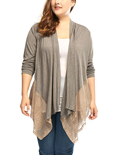 Orinda Womens Draped Asymmetric Cardigan