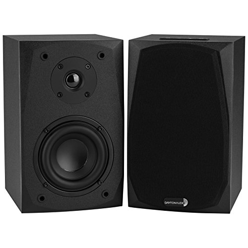 Dayton Audio MK402BT Powered Bluetooth 2-Way Bookshelf Speak