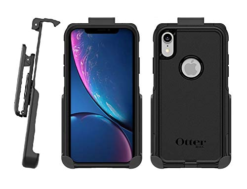 hot sale online 4423a 66d5a Belt Clip Holster for OtterBox Commuter Series - iPhone XR - (OtterBox case  not Included) - Features: Secure Fit, Quick Release Latch, Durable ...