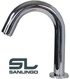 Infrarot IR Armatur Wasserhahn Automatik Waschbecken Chrom Kaltwasser