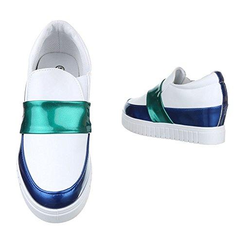 Ital-Design Women's Slippers Weiß kR3REgG
