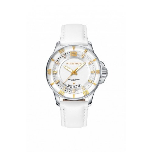 Watch Viceroy 42216-05 Steel Skin Woman Calendar