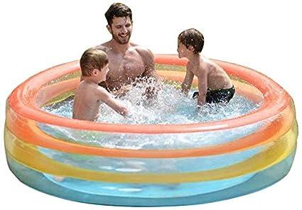 Amazon.com: Piscina hinchable para niños. Esta pequeña y ...