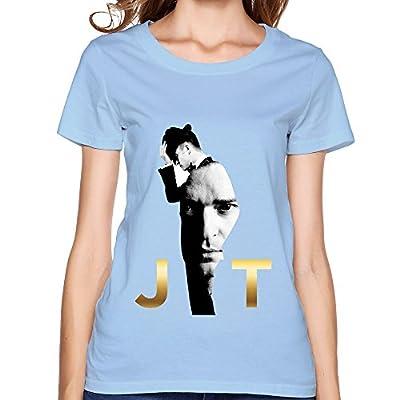 DBL Justin Timberlake Women's T-Shirt SkyBlue