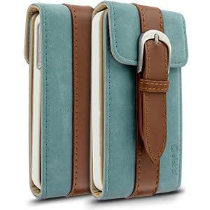 Daybook Diary for Apple iPhone 4 / 4S - Blue