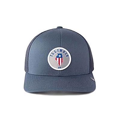 Travis Mathew NOIS (Illinois) Snapback Hat Dark Blue