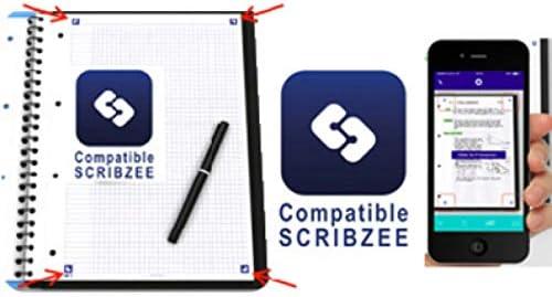 Oxford 100104405 Cuaderno Universal, Azul, Mon/ótono, Mate, 90 g//m/², Papel