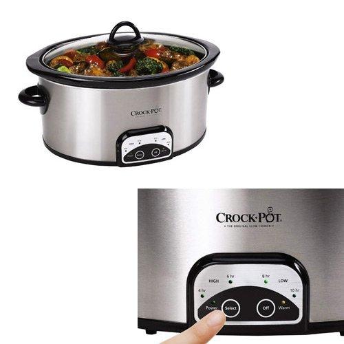 Crock-Pot SCCPVP700-S 7-Quart Programmable Slow Cooker by Crock-Pot