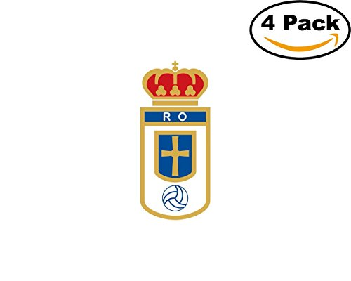 fan products of Real Oviedo Spain Football Club Soccer FC 4 Sticker Decal 4X4