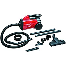 Sanitaire SC3683B EXTEND Canister Vacuum, 10 lb, Red
