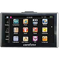 Bluetooth Capacitive Touch Screen 7 Inch Car GPS Navigation 8G 256M Pre-installed North America Maps Lifetime Free Map Update