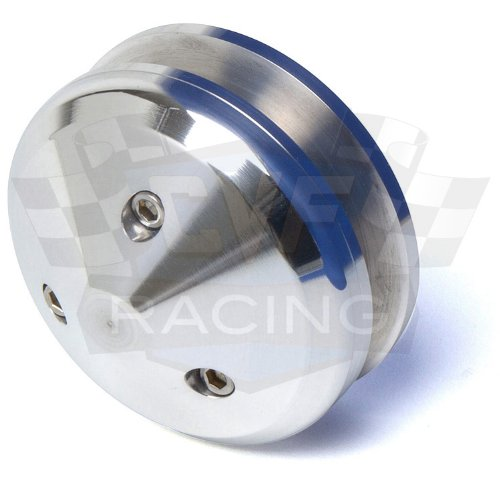 428 V-Belt Billet Aluminum Pontiac Underdrive Pulley Kit Power Steering 455 350-400