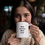 Best Zuchon Mom Ever Dog Mug - 11 oz White Coffee Cup - Funny Novelty Gift Idea 9
