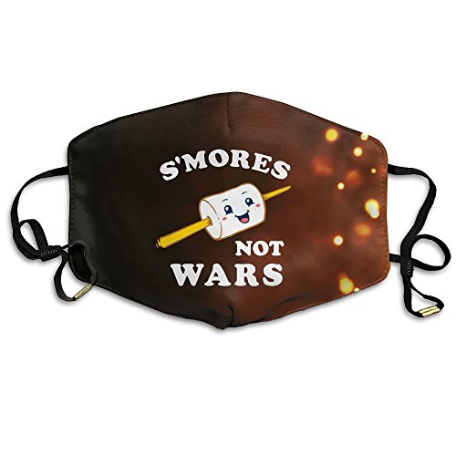 S'mores Not Wars Reusable Anti Dust Face Mouth Cover Mask,Warm Windproof Mask]()