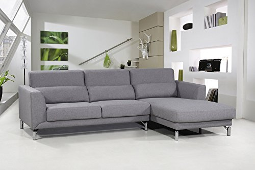 US Pride Furniture Aria Fabric Facing Right Chaise, used for sale  Delivered anywhere in Canada