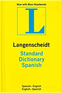 Standard Spanish Dictionary: Spanish-English, English-Spanish (Langenscheidt Standard Dictionaries)