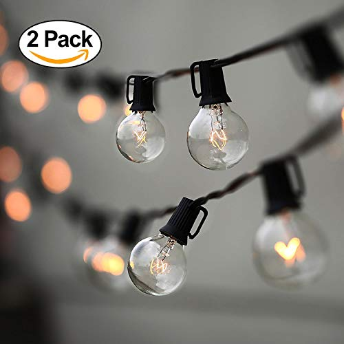 Industrial Patio String Lights in US - 3