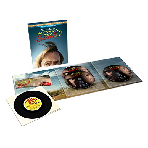 Better Call Saul: Season 1 Collector's Edition (Blu-ray + UltraViolet) -  Bob Odenkirk