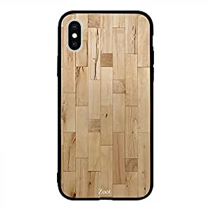 iPhone XS Max Light Color Wooden Pattern