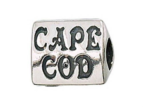 Zable Argent sterling Cape Cod Pandora Compatible Perle/Charm