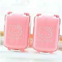 Cut Cartoon Pink Pill Medicine Case Kit Jewelry Tablets Box Container Storage Box