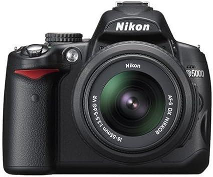 Nikon D5000 - Cámara Réflex Digital 12.3 MP (Objetivo AF-S DX VR ...